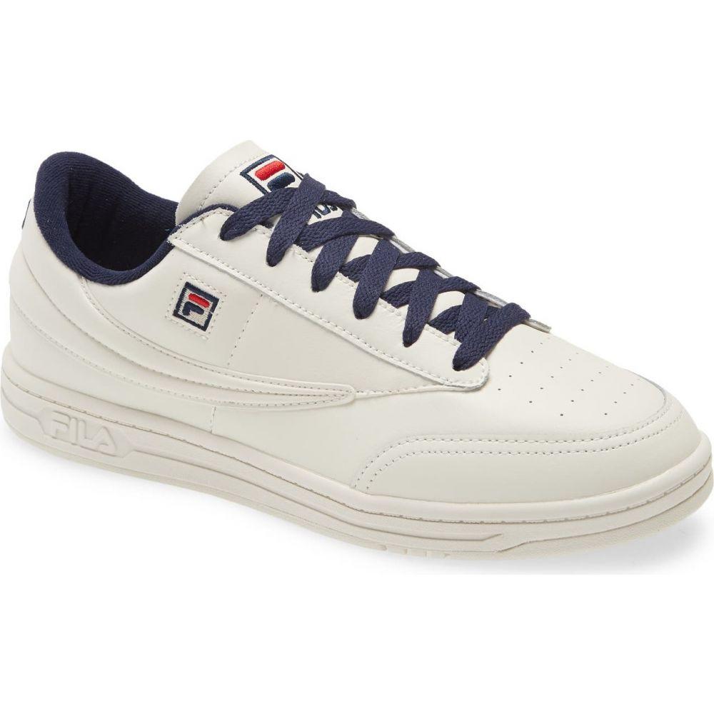 フィラ メンズ テニス シューズ・靴 Beige/Navy 【サイズ交換無料】 フィラ FILA メンズ テニス スニーカー シューズ・靴【Tennis 88 Sneaker】Beige/Navy