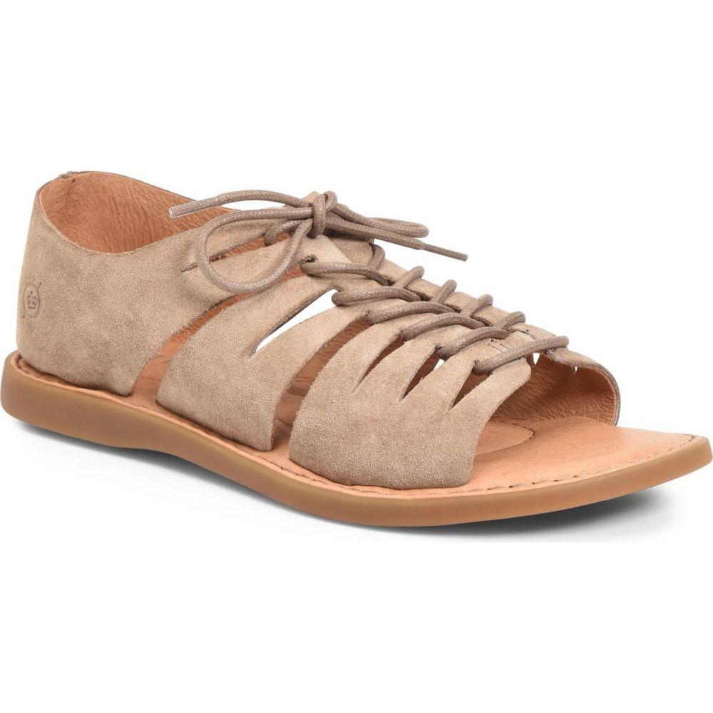 ボーン BORN レディース サンダル・ミュール シューズ・靴【Izhma Sandal】Taupe Suede