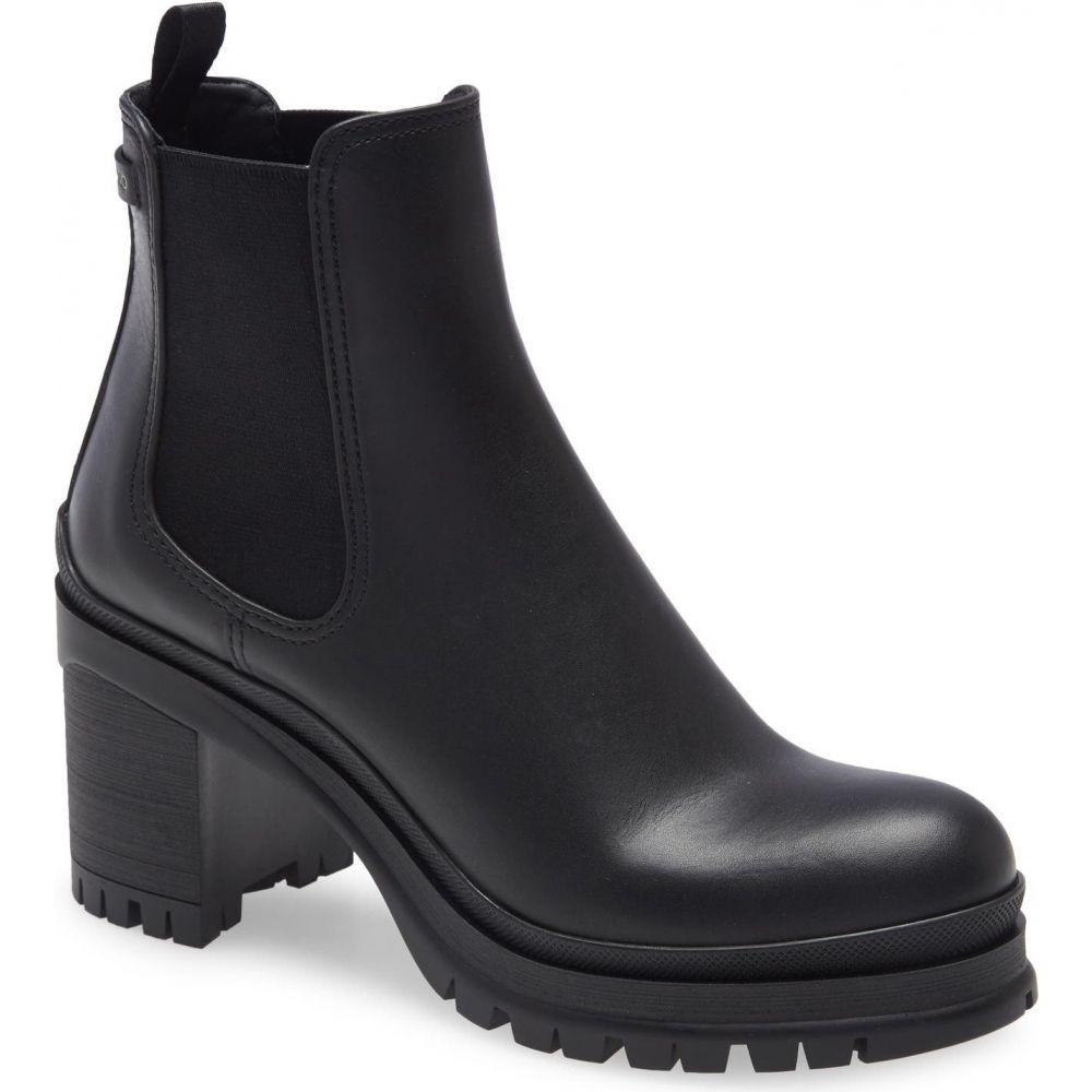 プラダ レディース シューズ 靴 ブーツ Nero サイズ交換無料 PRADA 人気 Sole Lug Boot チェルシーブーツ Chelsea 本物
