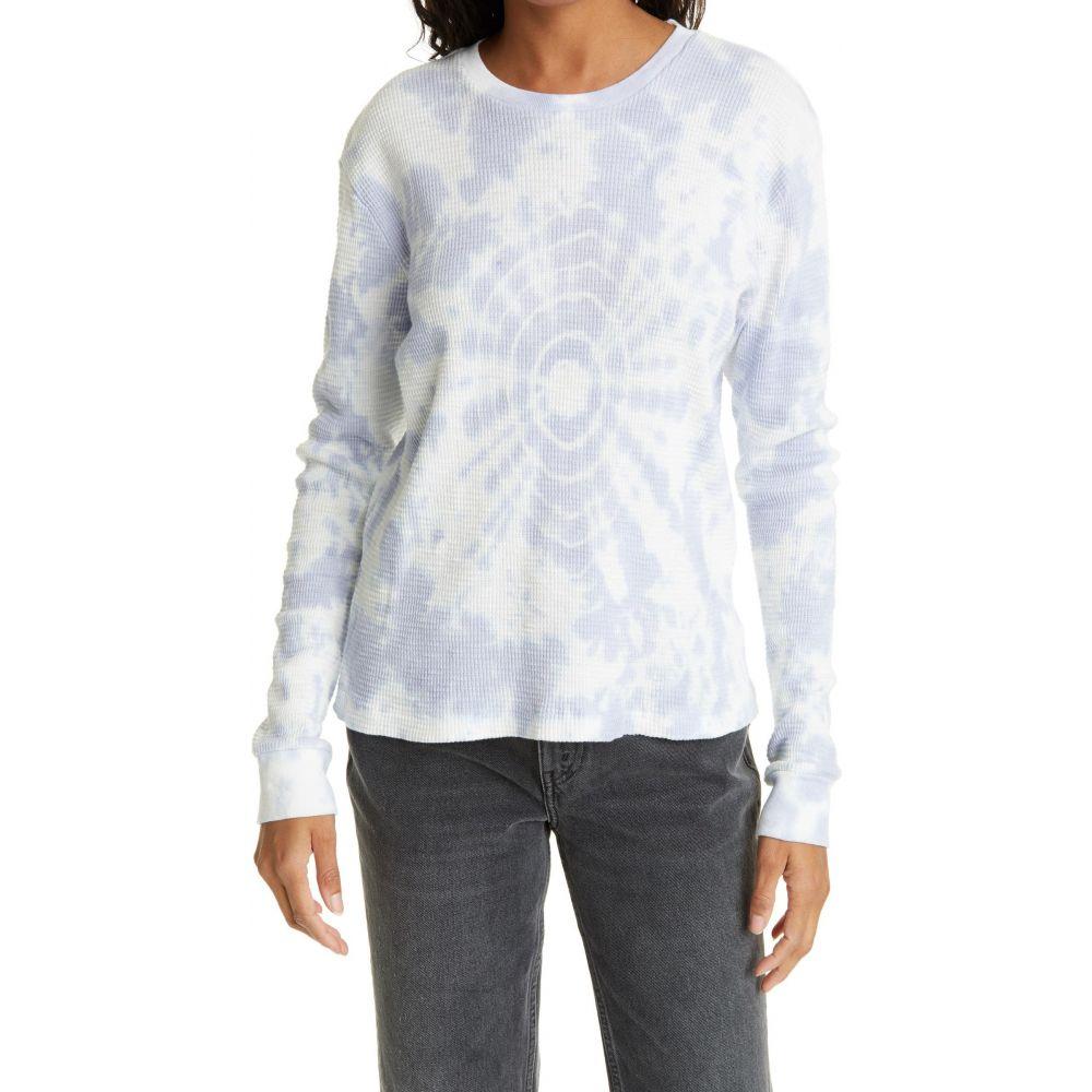 リダン レディース トップス 長袖Tシャツ Lilac Drop Dye 市場 Sleeve 登場大人気アイテム RE サイズ交換無料 Tee Long DONE Thermal