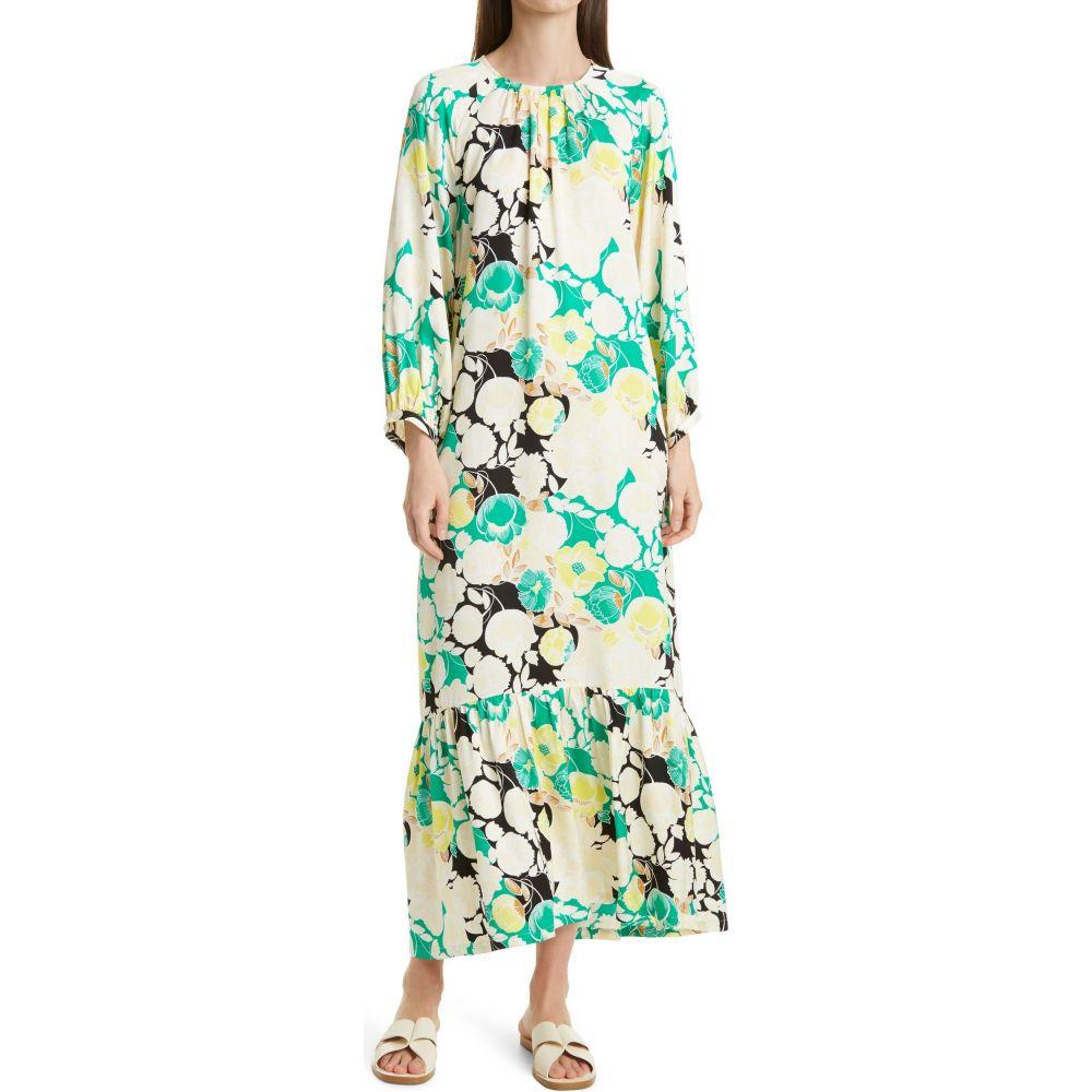 ロジャー RODEBJER レディース ワンピース ワンピース・ドレス【Wanda Floral Print High/Low Dress】Spring Green