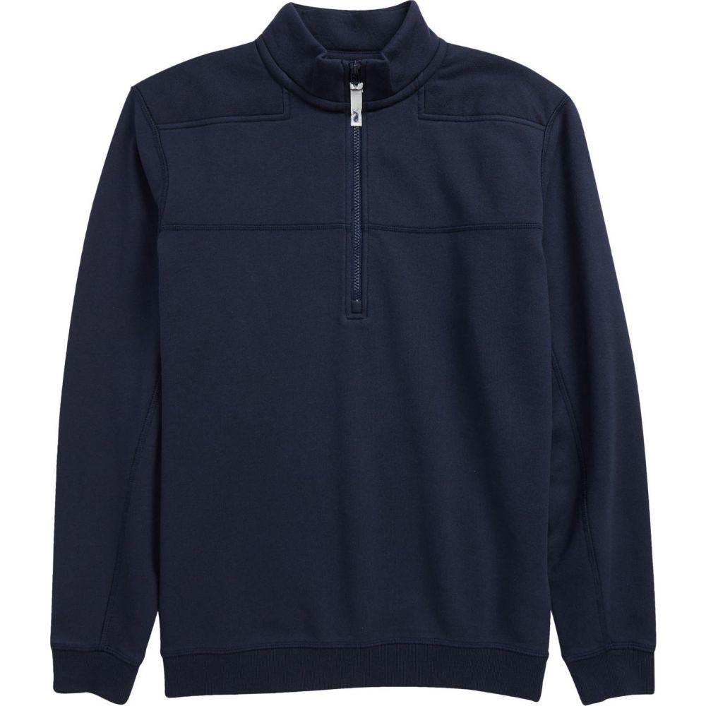 ヴィニヤードヴァインズ メンズ 発売モデル トップス Vineyard Navy サイズ交換無料 VINEYARD VINES Quarter Collegiate Zip Pullover 商品