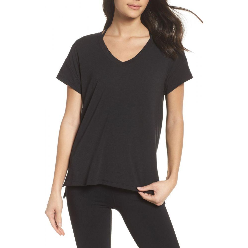 ゼラ レディース [並行輸入品] トップス Tシャツ Black Ava サイズ交換無料 T-Shirt ZELLA 高級な
