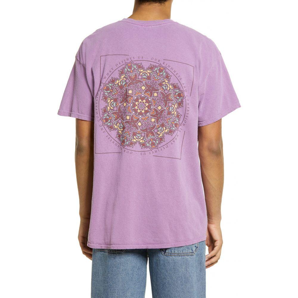 アーバンアウトフィッターズ メンズ トップス Tシャツ Pink サイズ交換無料 Mandala マート BDG 在庫限り Graphic URBAN Tee OUTFITTERS