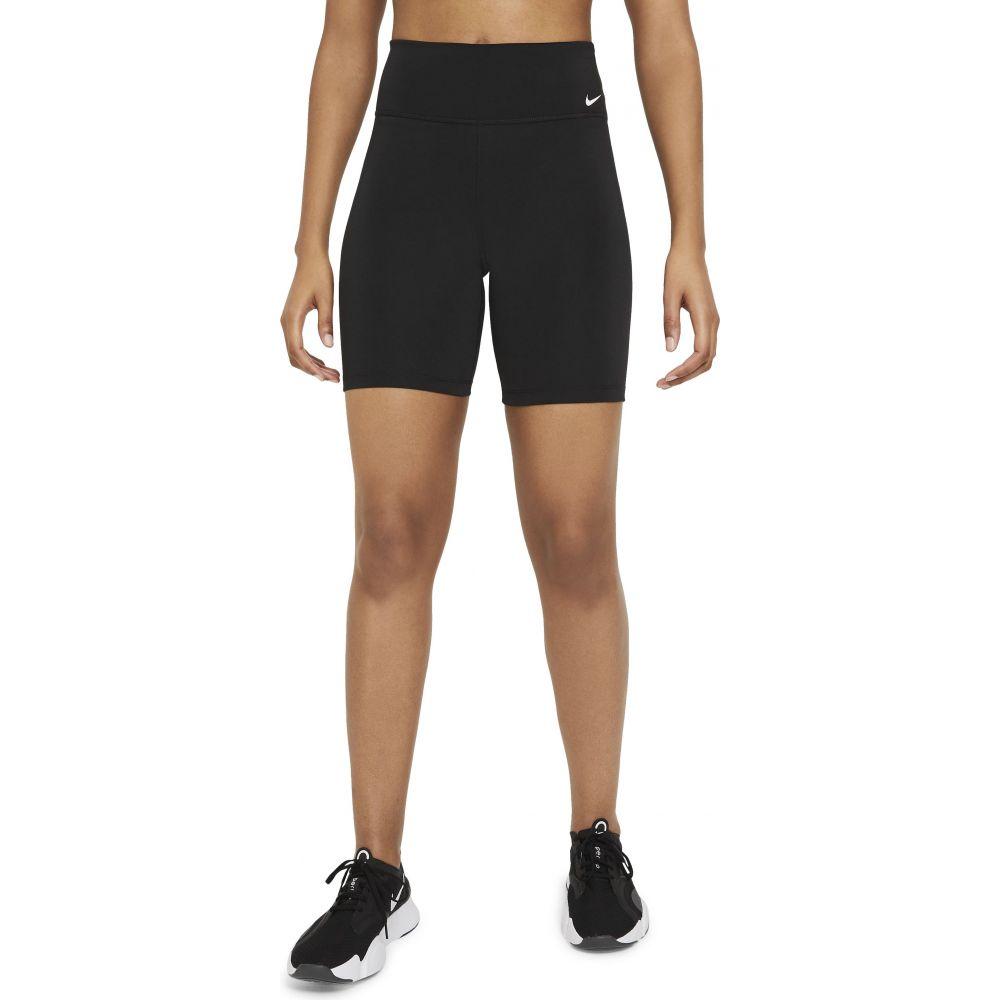 ナイキ レディース 自転車 ボトムス パンツ Black White ショートパンツ 高級な One 安心と信頼 NIKE Bike Mid-Rise サイズ交換無料 Shorts