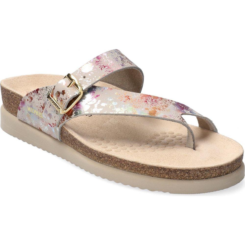 メフィスト レディース シューズ 靴 サンダル ミュール Fog サイズ交換無料 オンラインショップ MEPHISTO Leather Sandal Paint 'Helen' 超人気 専門店