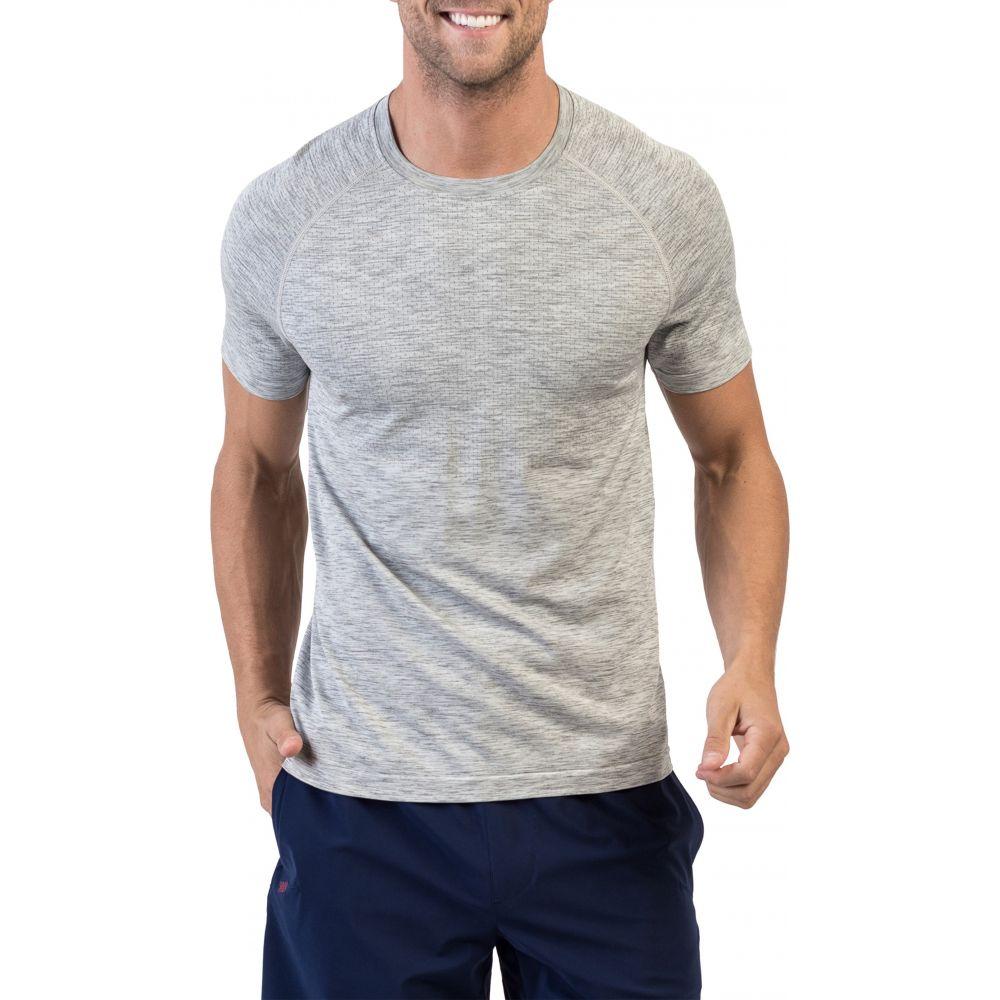 ローヌ メンズ トップス Tシャツ Light Gray Heather Short サイズ交換無料 Reign Tech T-Shirt ブランド激安セール会場 Sleeve 値下げ RHONE