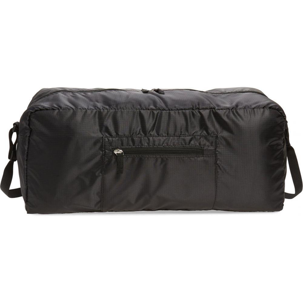 ノードストローム メンズ バッグ ボストンバッグ ダッフルバッグ 100%品質保証! Black サイズ交換無料 NORDSTROM 品質検査済 Ripstop Bag Convertible Packable Duffle