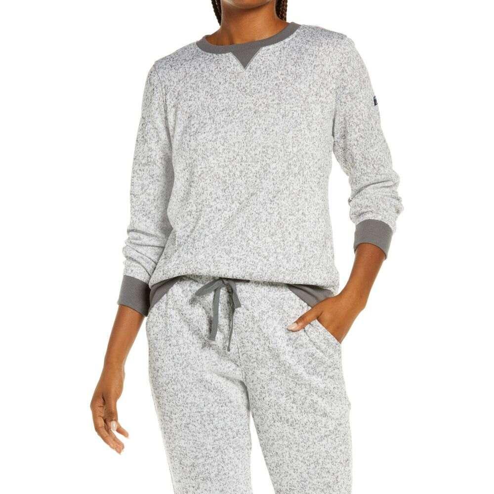 エルエルビーン レディース トップス スウェット 売り込み トレーナー Light 正規激安 Gray サイズ交換無料 Sweater L.L.BEAN Heather Fleece Sweatshirt