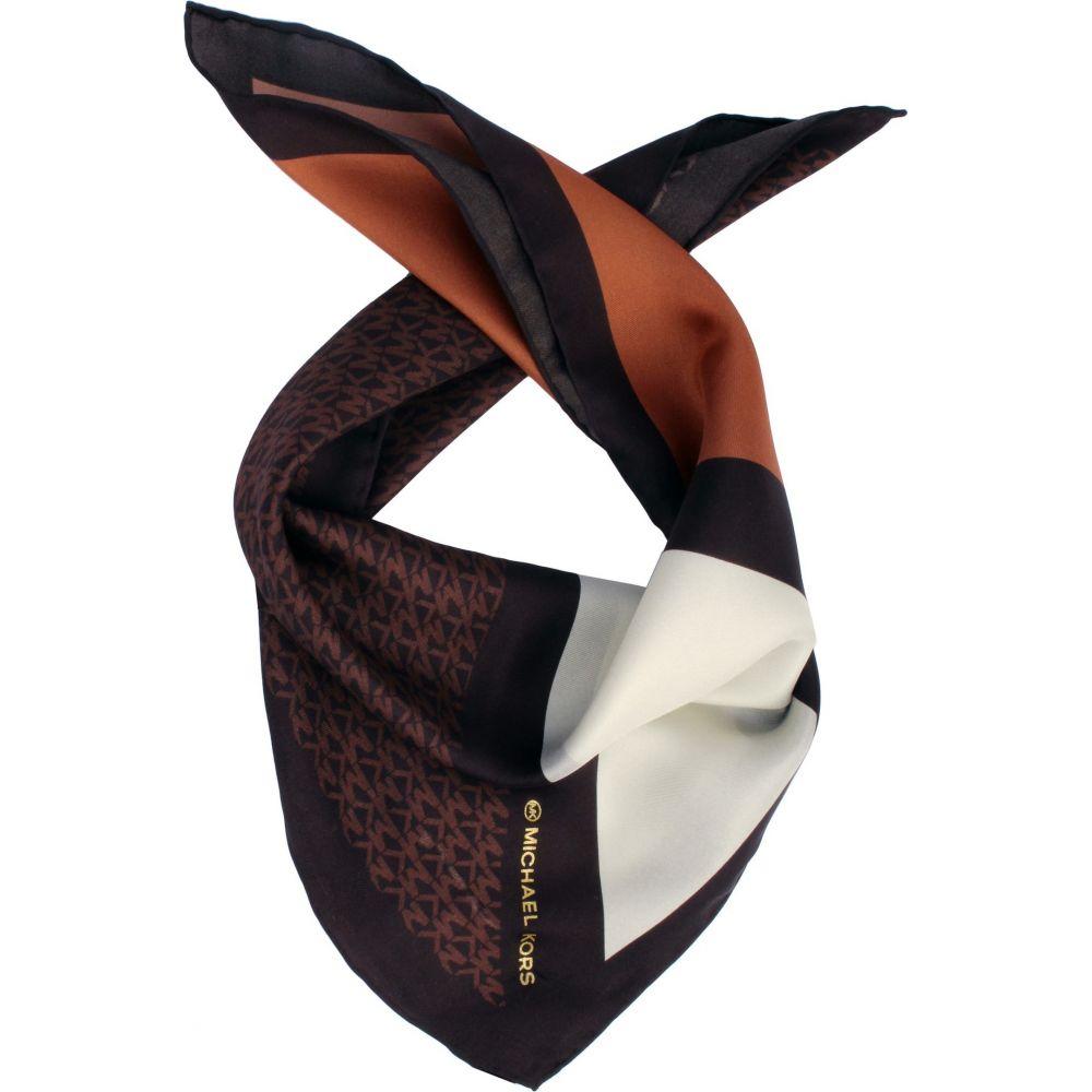 マイケル 期間限定お試し価格 コース レディース ファッション小物 バンダナ Chocolate MICHAEL Silk KORS セットアップ サイズ交換無料 Bandana