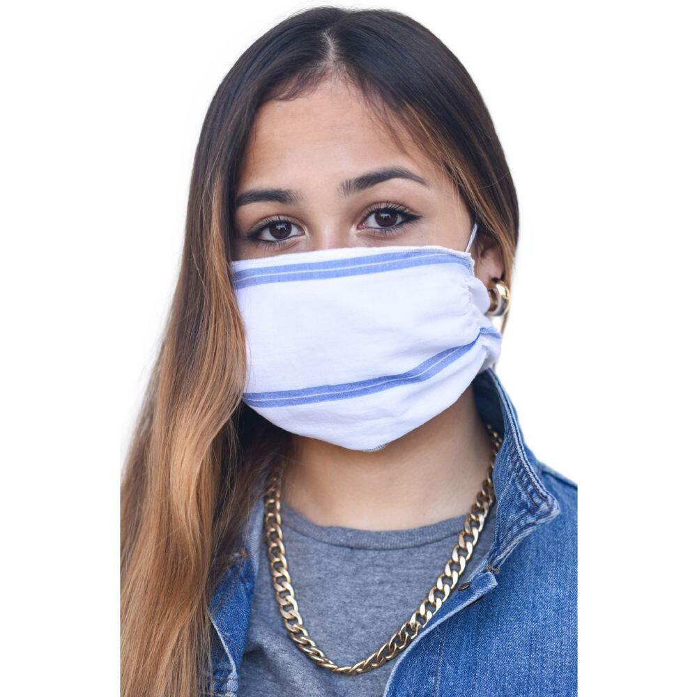 マリ リリー レディース ファッション小物 マフラー スカーフ ストール Blue サイズ交換無料 Adult Scarf MALI Four 至高 超激安 Layer + LILI マスク Mask