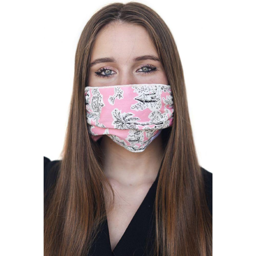 マリ リリー レディース ファッション小物 マフラー スカーフ ストール Pink サイズ交換無料 Layer Adult トレンド MALI Mask Four Scarf マスク 高品質 + LILI