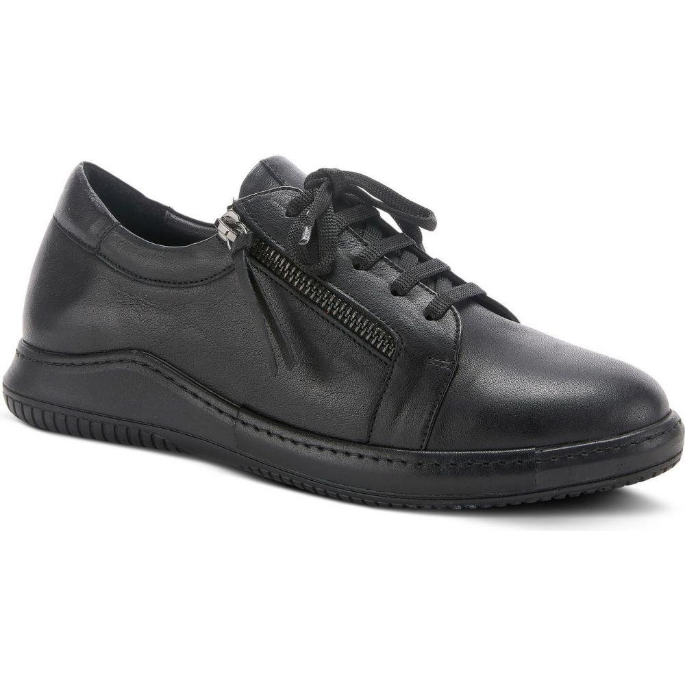 スプリングステップ レディース シューズ・靴 スニーカー Black 【サイズ交換無料】 スプリングステップ SPRING STEP レディース スニーカー シューズ・靴【Yana Sneaker】Black