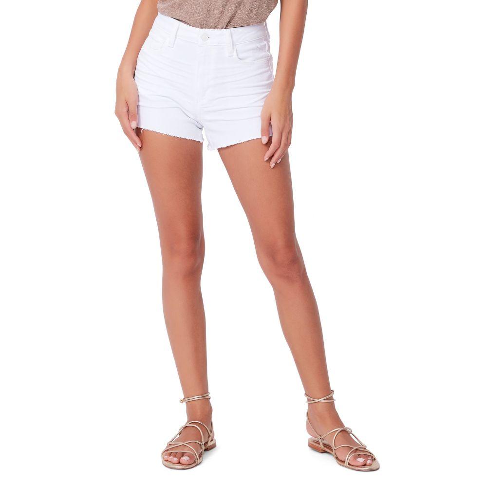 ペイジ レディース ボトムス・パンツ ショートパンツ Lived In Crisp White 【サイズ交換無料】 ペイジ PAIGE レディース ショートパンツ デニム ボトムス・パンツ【Margot Denim Shorts】Lived In Crisp White