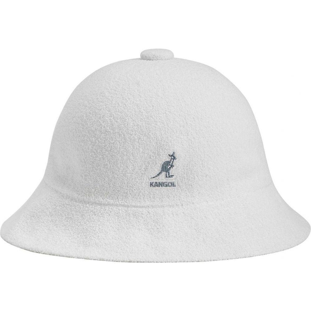 カンゴール メンズ 帽子 ハット White サイズ交換無料 Bermuda Kangol ハイクオリティ 無料サンプルOK バケットハット Casual Bucket Hat