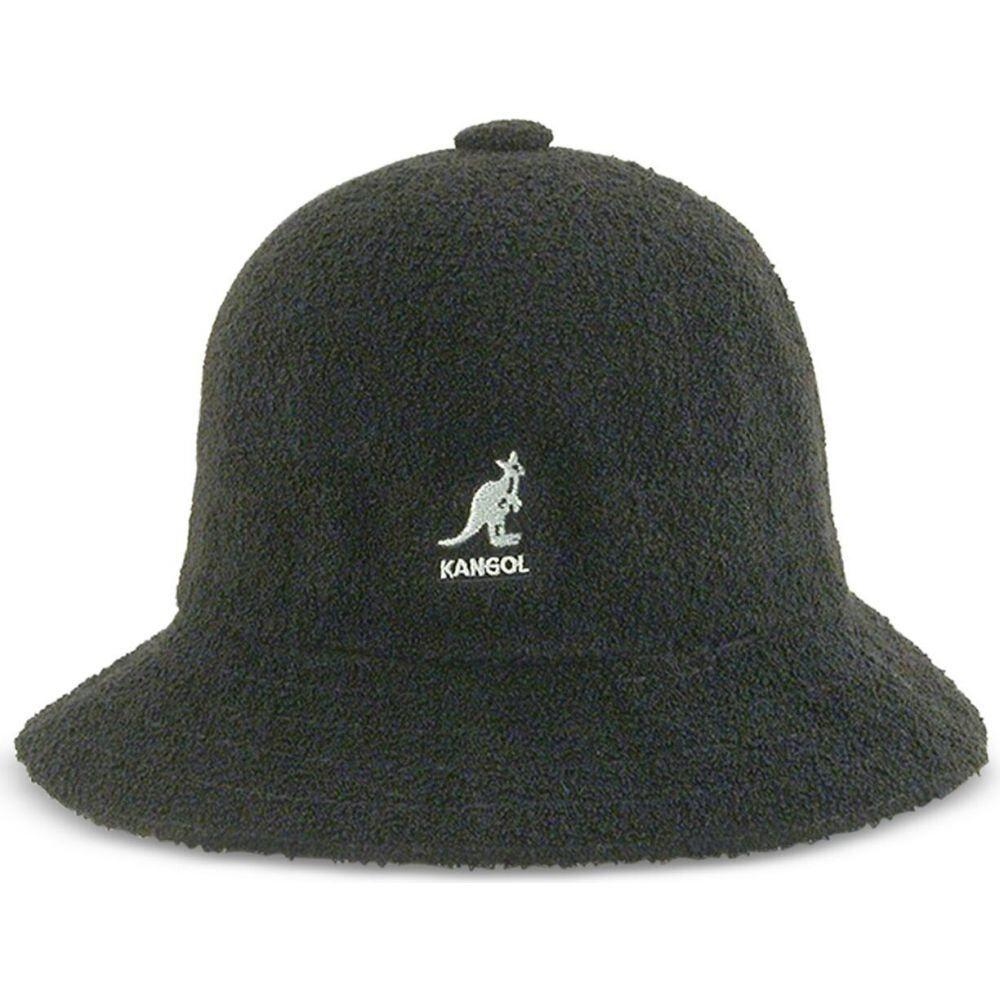 カンゴール メンズ 帽子 ハット Black 着後レビューで 送料無料 サイズ交換無料 Hat バケットハット Casual Kangol Bermuda 即出荷 Bucket