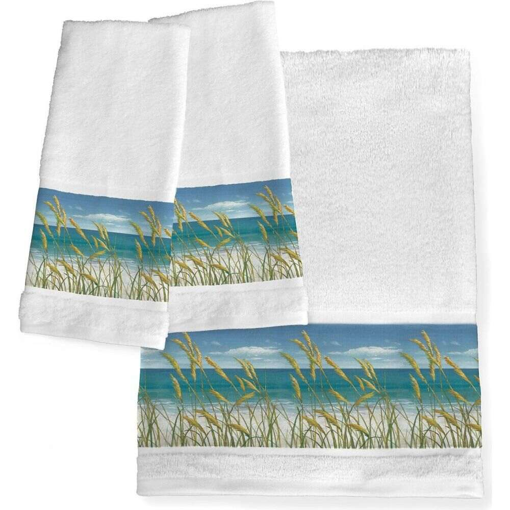 ローレル ホーム ユニセックス 財布・時計・雑貨 タオル Wht/coast 【サイズ交換無料】 ローレル ホーム Laural Home ユニセックス タオル 【Summer Breeze Bath Towel】Wht/coast