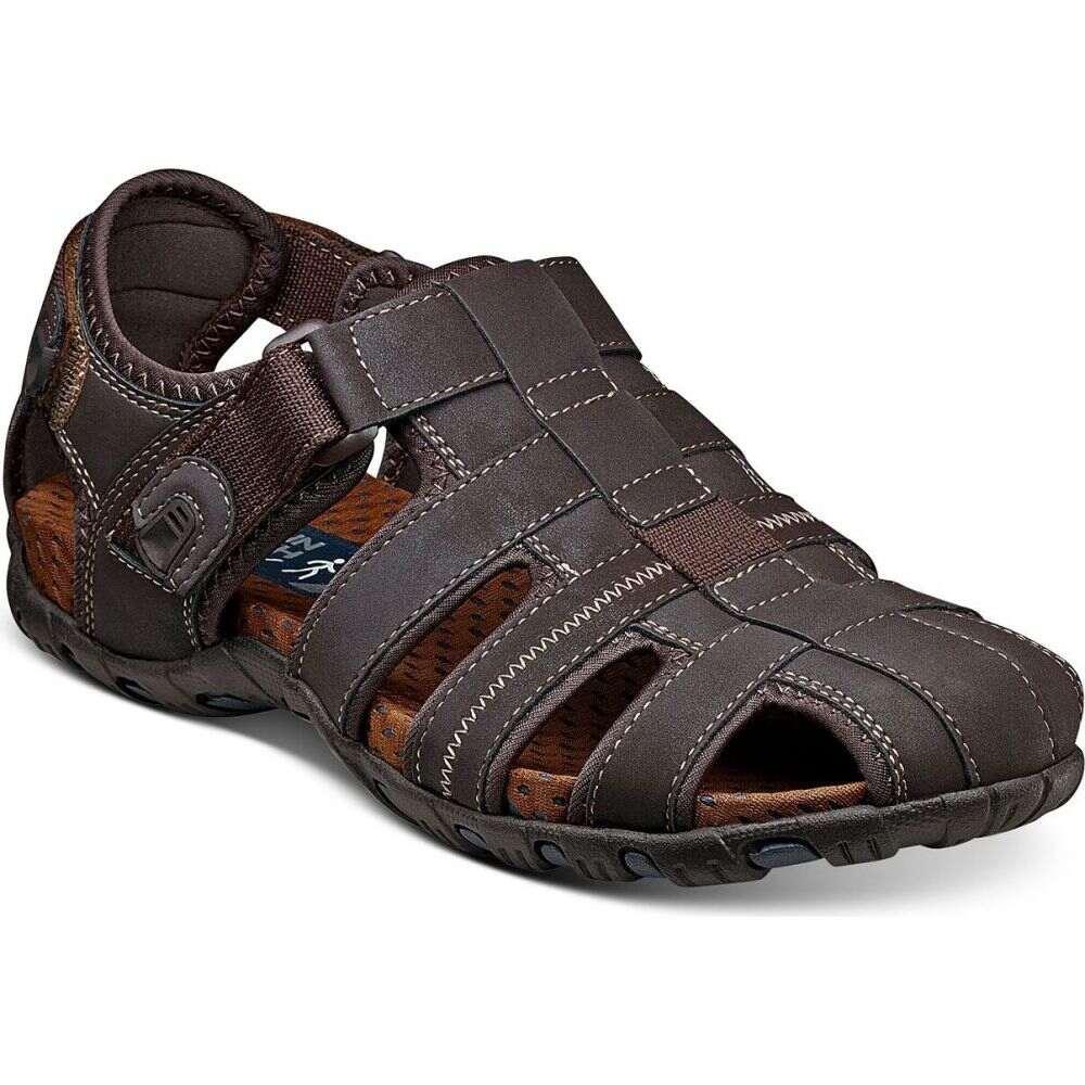 ナンブッシュ メンズ シューズ・靴 サンダル Brown 【サイズ交換無料】 ナンブッシュ Nunn Bush メンズ サンダル シューズ・靴【Rio Bravo Fisherman Sandals】Brown
