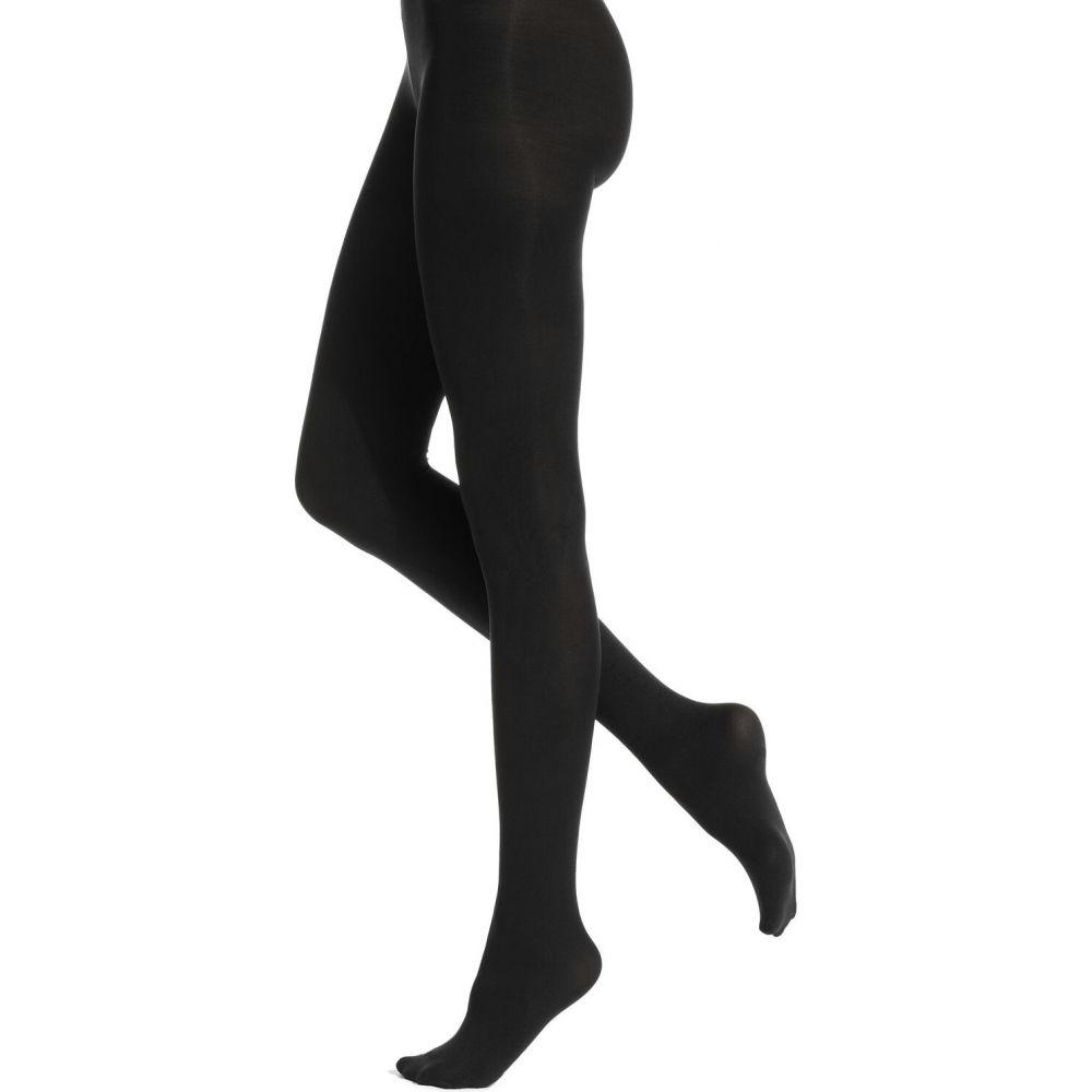 フエ レディース インナー 下着 タイツ ストッキング ☆最安値に挑戦 Tights 超安い Opaque Super Hue Black