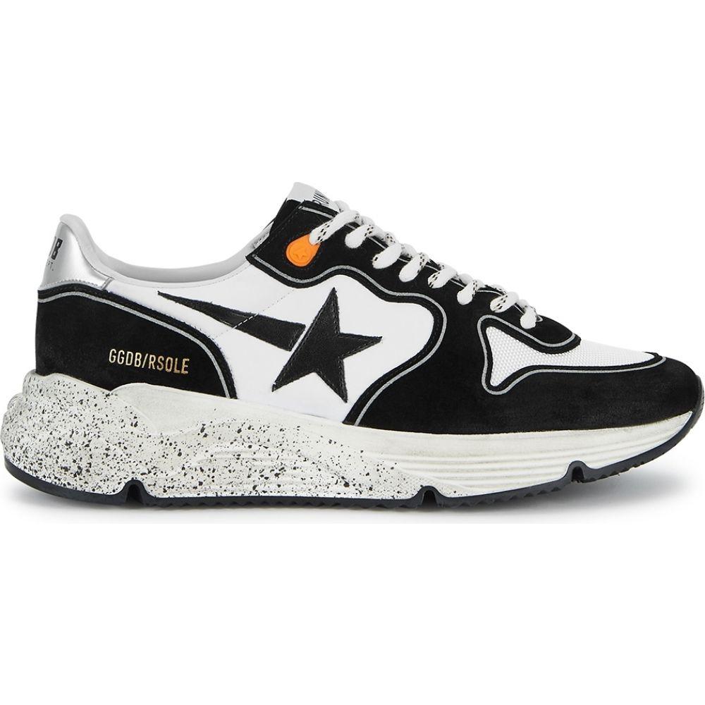 ゴールデン グース Golden Goose Deluxe Brand メンズ ランニング・ウォーキング スニーカー シューズ・靴【Running Sole Distressed Suede Sneakers】White