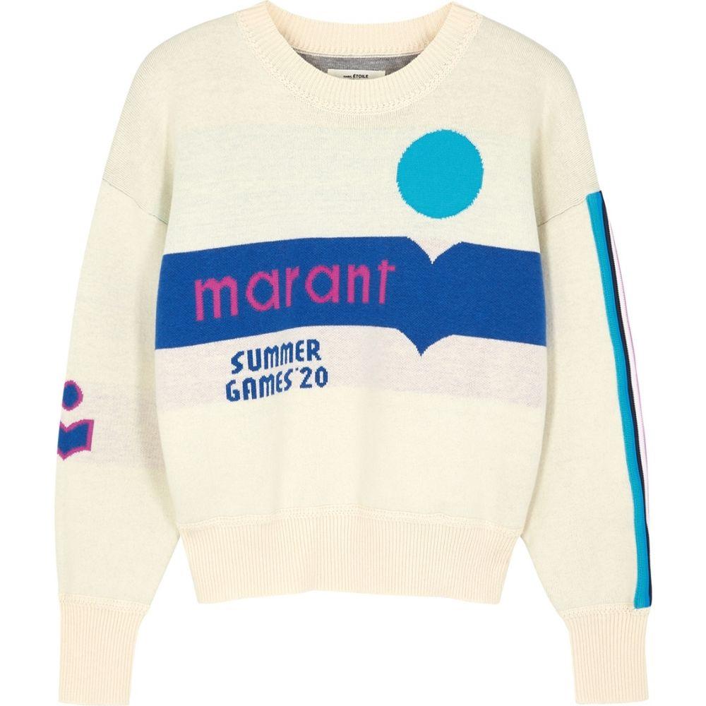 イザベル マラン Isabel Marant Etoile レディース ニット・セーター トップス【Kleden Logo Cotton-Blend Jumper】Natural