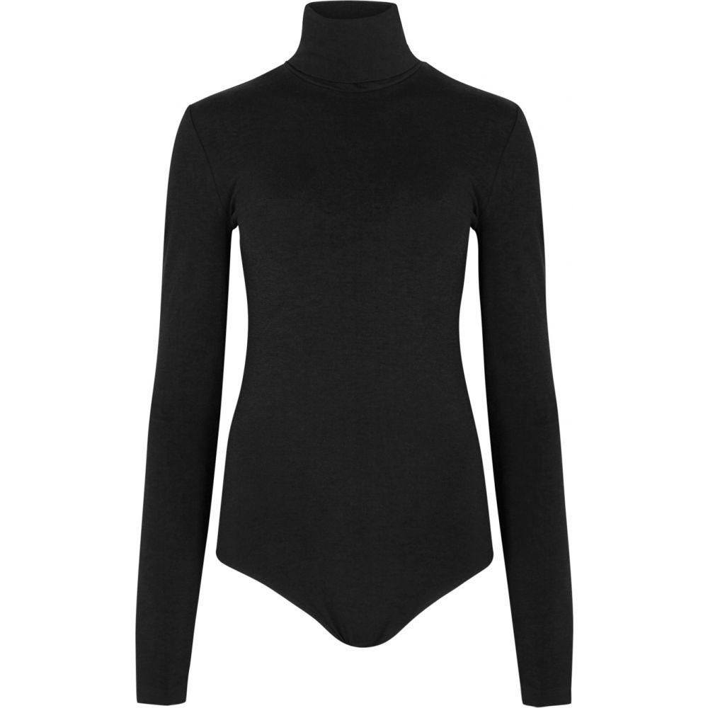 ウォルフォード Wolford レディース ボディースーツ インナー・下着【Colorado Black Stretch-Knit Bodysuit】Black