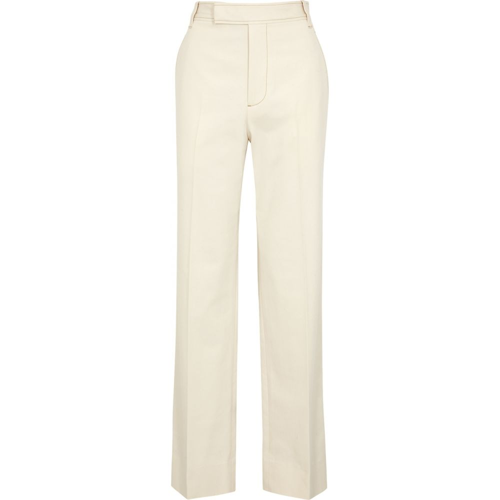ロロド LOROD レディース ボトムス・パンツ 【Barrack Cream Straight-Leg Twill Trousers】Natural