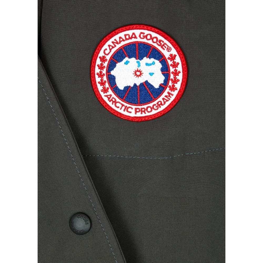 カナダグース Canada Goose レディース コート アウター Shelburne Dark Grey Arctic Tech Shell Parka Greym0wn8N