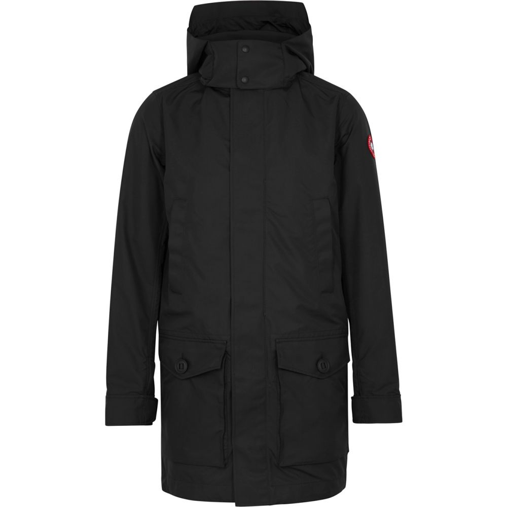 カナダグース Canada Goose メンズ コート アウター【Crew Black Shell Coat】Black