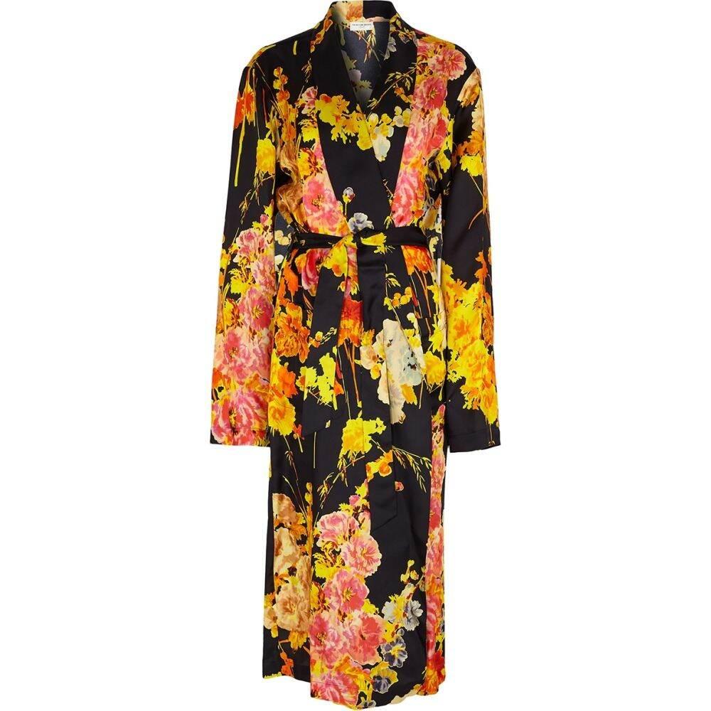 ドリス ヴァン ノッテン Dries Van Noten レディース ワンピース ラップドレス ワンピース・ドレス【Charly Printed Wrap Dress】Black