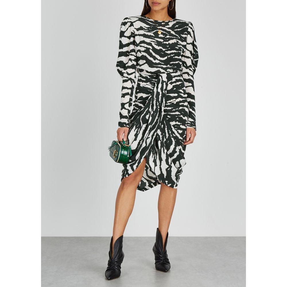 イザベル マラン Isabel Marant レディース ワンピース ワンピース・ドレス Frea Black And White Printed Dress Black54qS3LAcRj