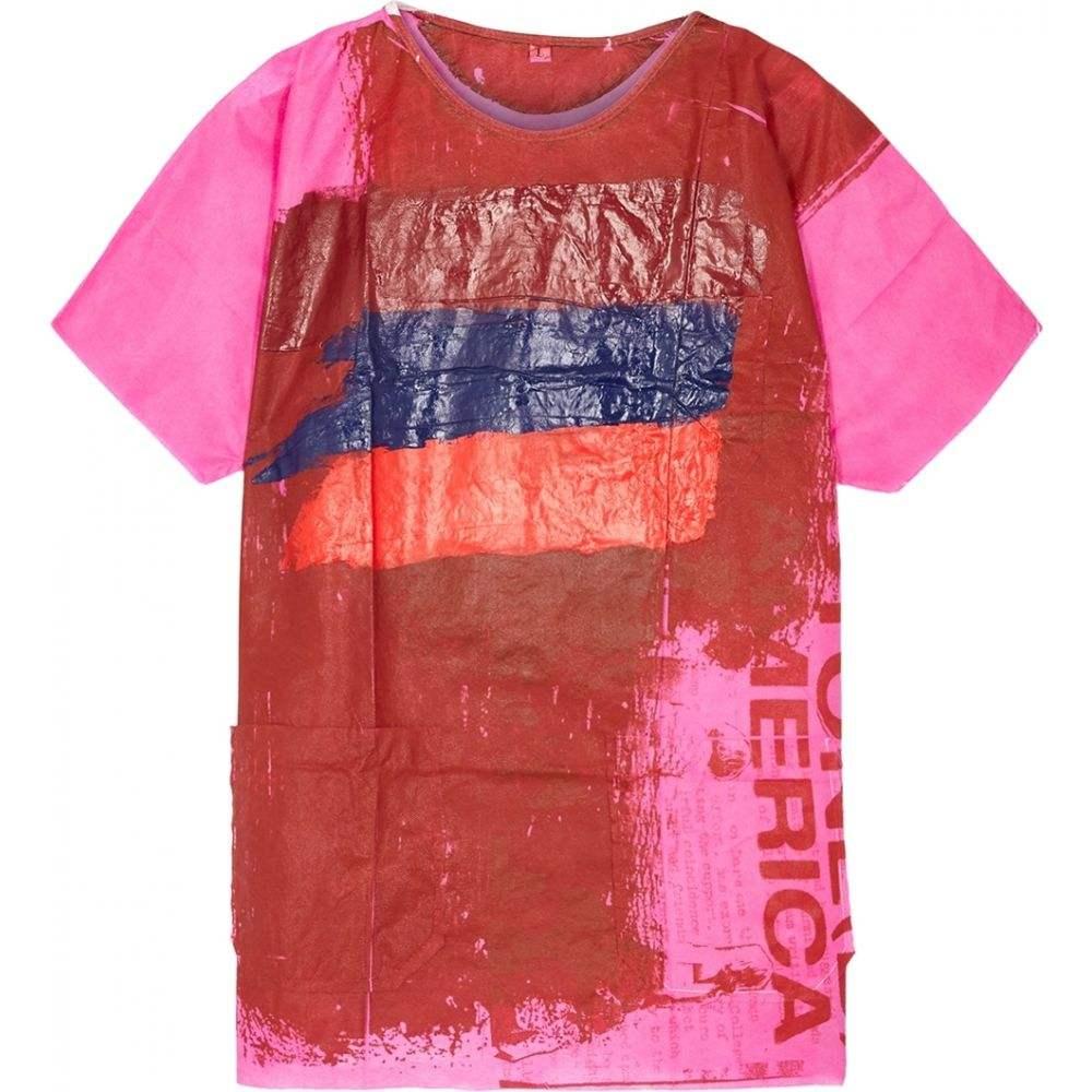 ラフ シモンズ Raf Simons メンズ Tシャツ トップス【Hospital Hand-Painted T-Shirt】Multi