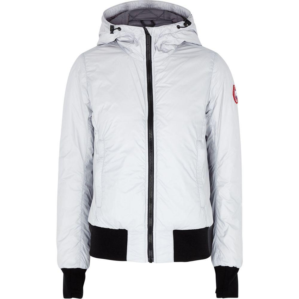 カナダグース Canada Goose レディース ブルゾン ミリタリージャケット シェルジャケット アウター【Dore Light Grey Shell Bomber Jacket】Grey