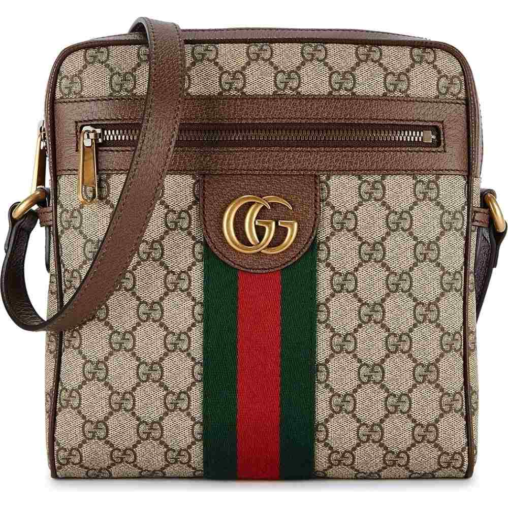 グッチ Gucci メンズ ショルダーバッグ バッグ【Ophidia Gg Small Cross-Body Bag】Natural