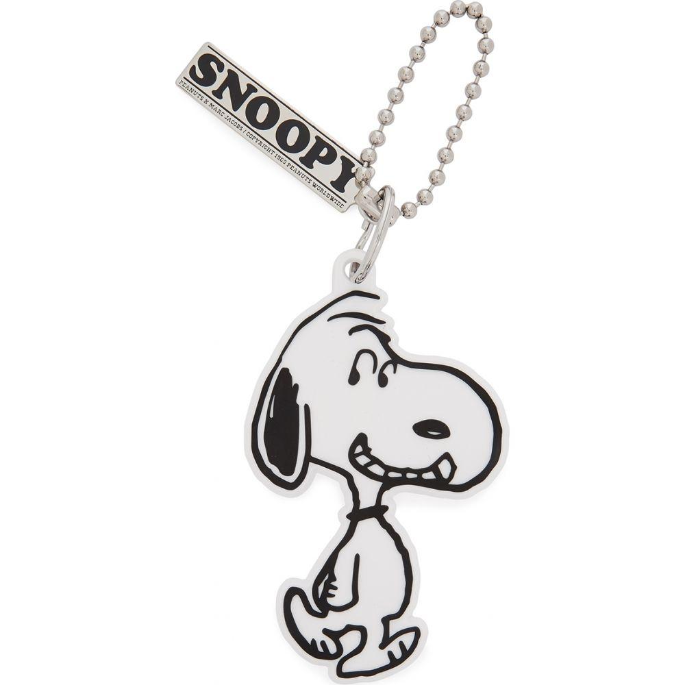 マーク ジェイコブス Marc Jacobs レディース キーホルダー バッグチャーム【X Peanuts Snoopy Bag Charm】White
