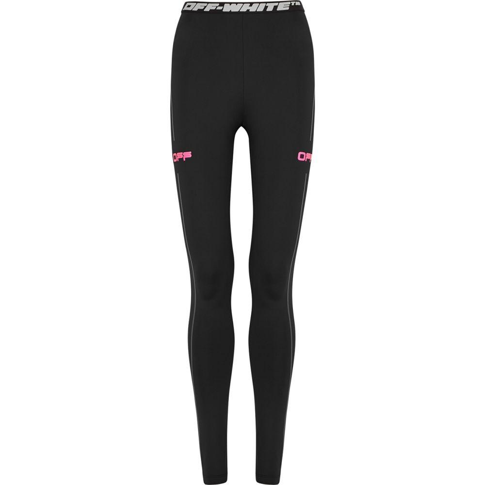 オフホワイト Off-White レディース スパッツ・レギンス インナー・下着【Active Black Stretch-Jersey Leggings】Black