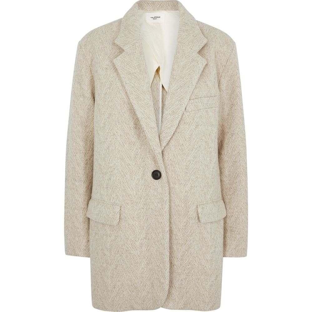 イザベル マラン Isabel Marant Etoile レディース スーツ・ジャケット アウター【Ondine Oatmeal Wool-Blend Blazer】Natural