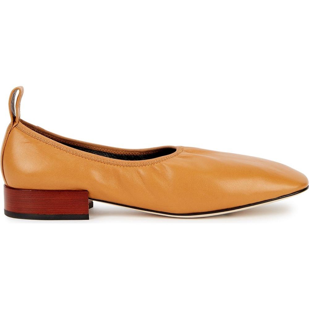 ロエベ Loewe レディース パンプス シューズ・靴【25 Brown Leather Pumps】Brown