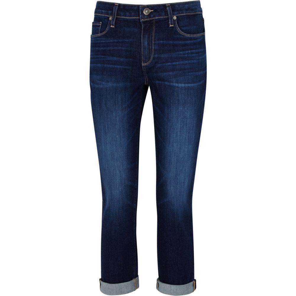 ペイジ Paige レディース ジーンズ・デニム ボトムス・パンツ【Brigitte Cropped Slim-Leg Jeans】Blue