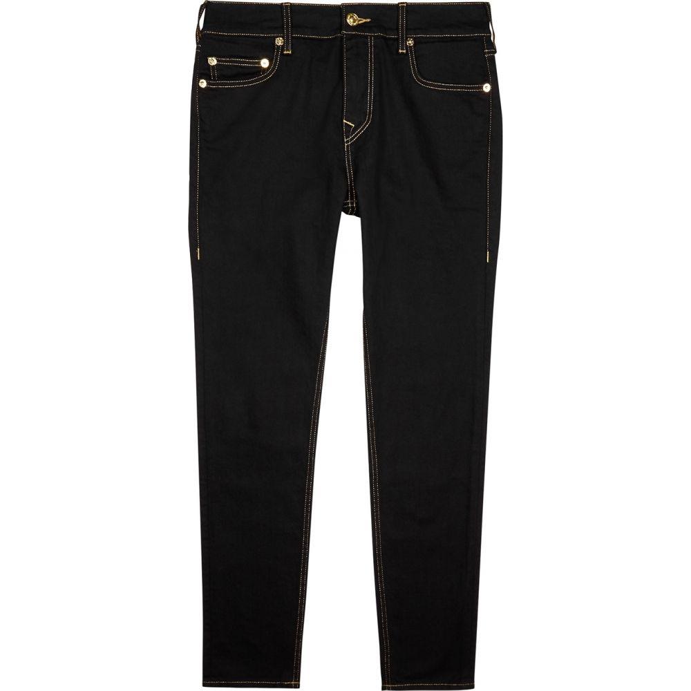 トゥルー レリジョン True Religion メンズ ジーンズ・デニム ボトムス・パンツ【Jack No Flap Black Slim-Leg Jeans】Black