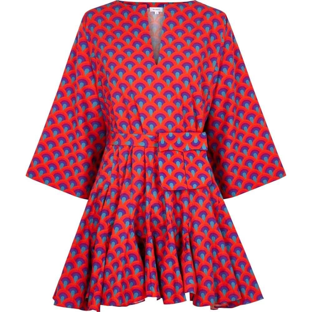 ロードリゾート RHODE レディース ビーチウェア ワンピース・ドレス 水着・ビーチウェア【Ryan Printed Cotton Mini Dress】Multi