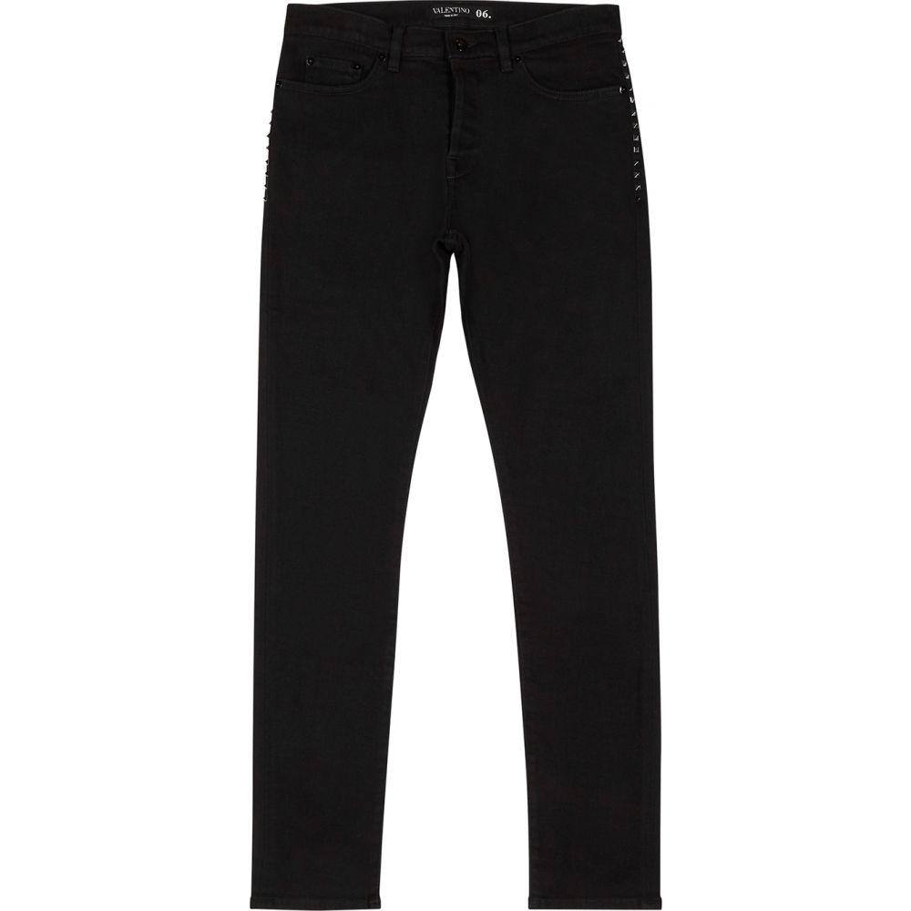 ヴァレンティノ Valentino メンズ ジーンズ・デニム ボトムス・パンツ【Rockstud Untitled Black Skinny Jeans】Black