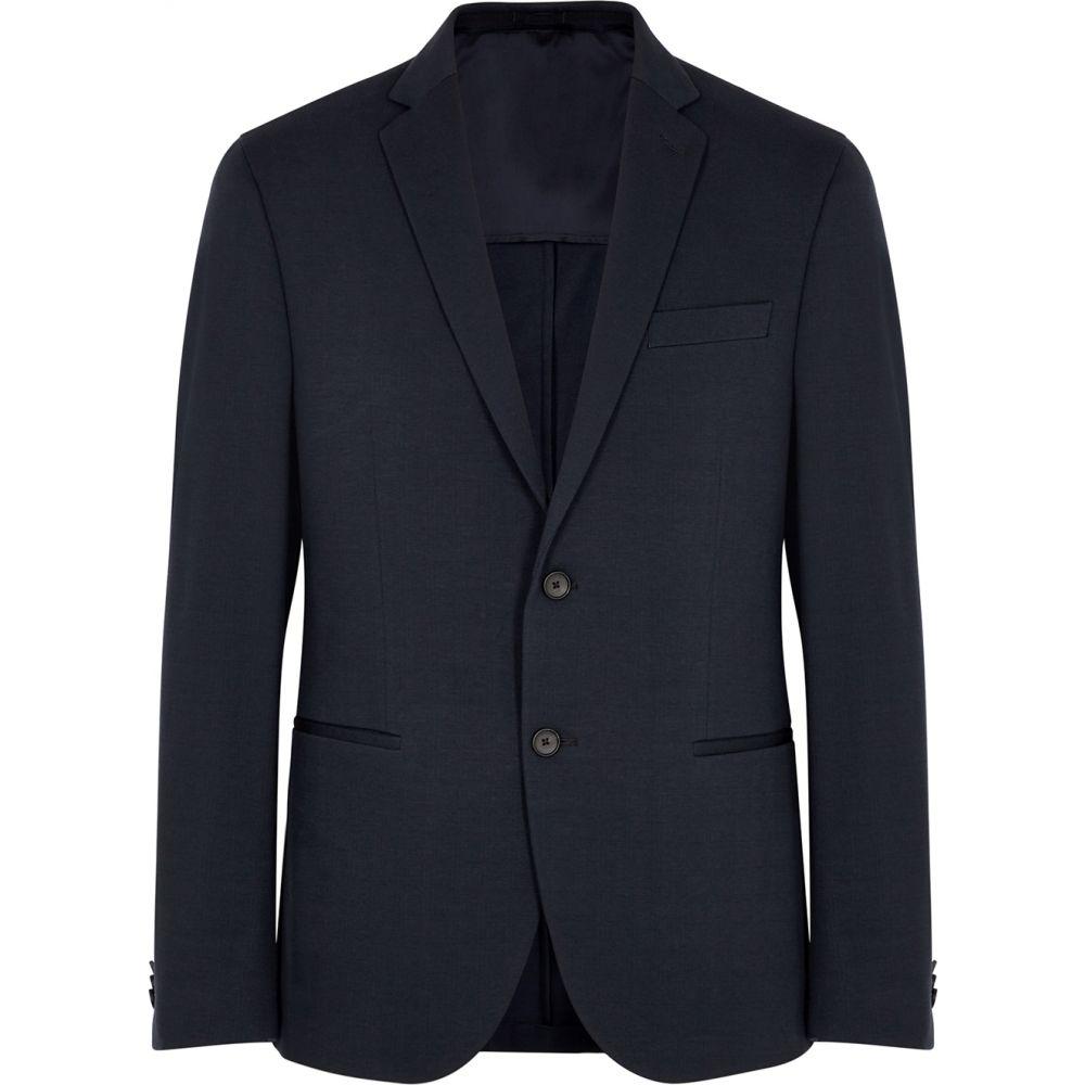 ヒューゴ ボス BOSS メンズ スーツ・ジャケット アウター【Norwin Navy Cotton-Blend Blazer】Navy