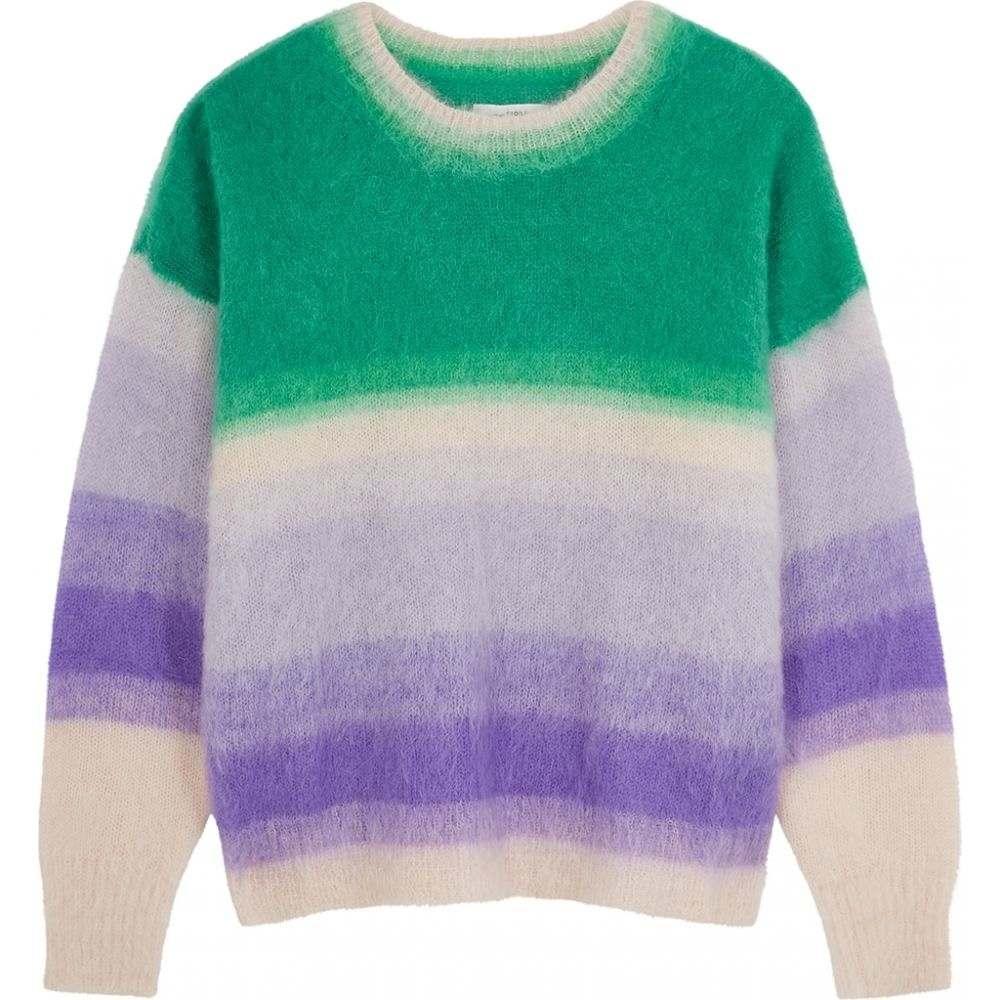 イザベル マラン Isabel Marant Etoile レディース ニット・セーター トップス【Drussel Striped Mohair-Blend Jumper】Purple