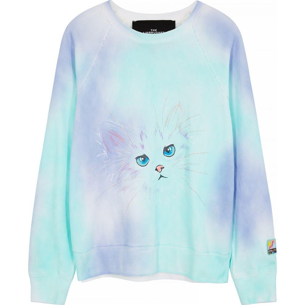 マーク ジェイコブス Marc Jacobs レディース スウェット・トレーナー トップス【Tie-Dyed Printed Cotton Sweatshirt】Purple