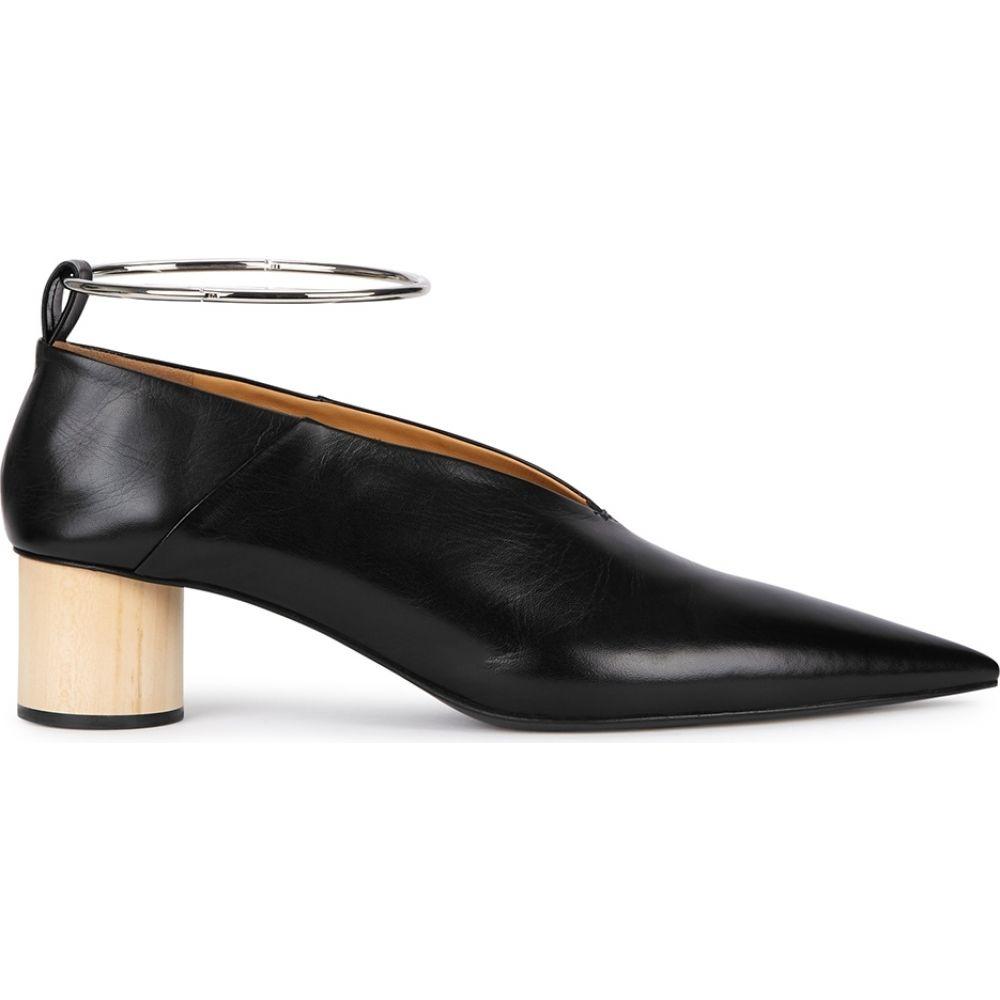 ジル サンダー Jil Sander レディース パンプス シューズ・靴【40 Black Leather Pumps】Black