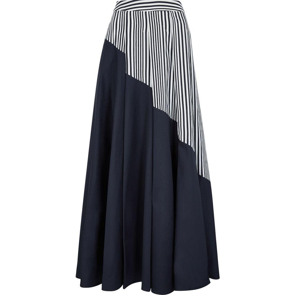 パルマーハーディング palmer//harding レディース ロング・マキシ丈スカート スカート【Sunda Panelled Cotton Maxi Skirt】Blue