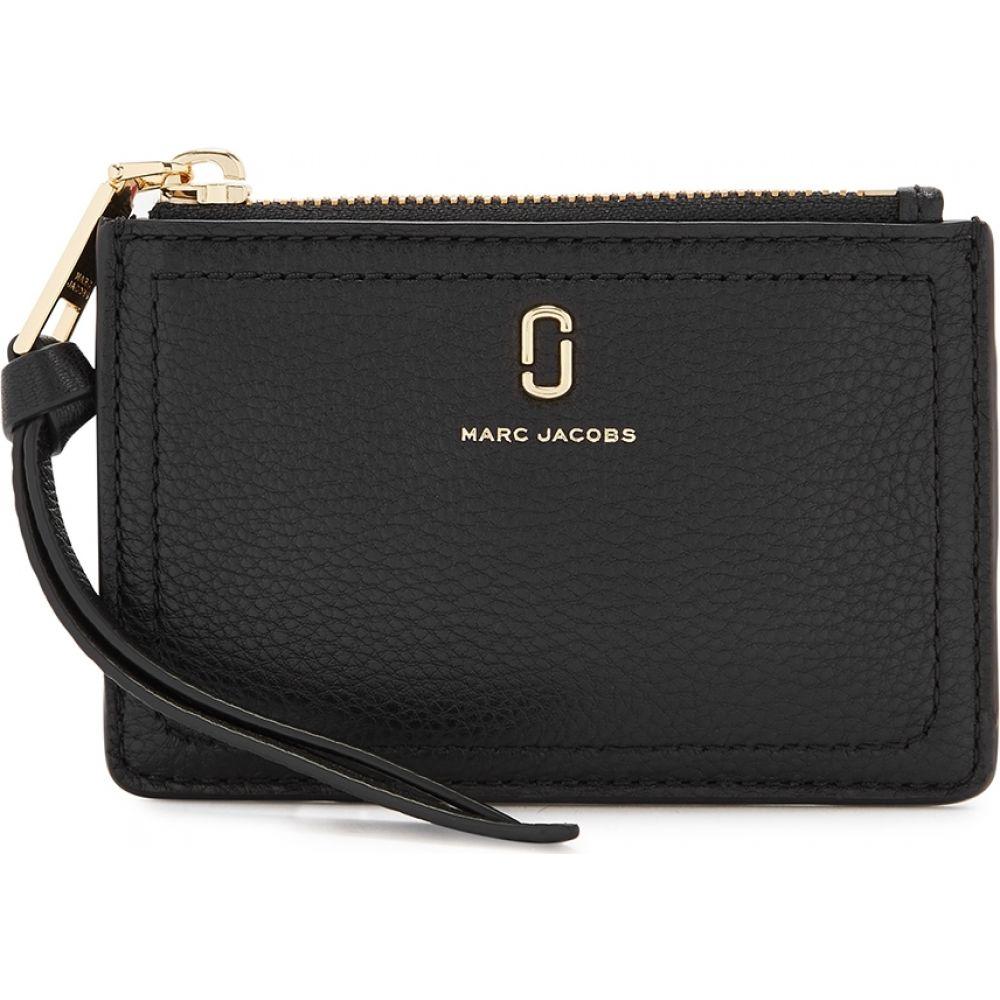 マーク ジェイコブス Marc Jacobs レディース 財布 【Black Leather Wallet】Black