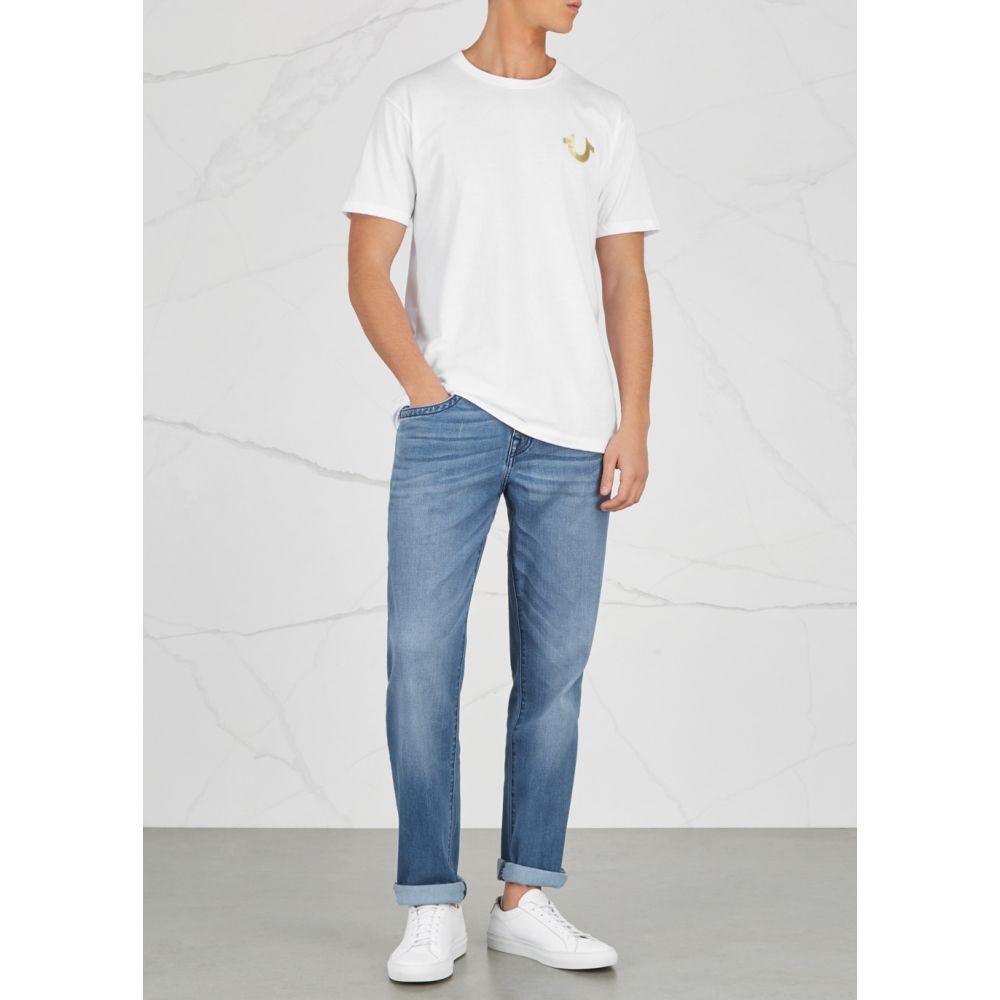 トゥルー レリジョン True Religion メンズ ジーンズ・デニム ボトムス・パンツ Geno Light Blue Straight Leg Jeans BlueLUSMVpGqz