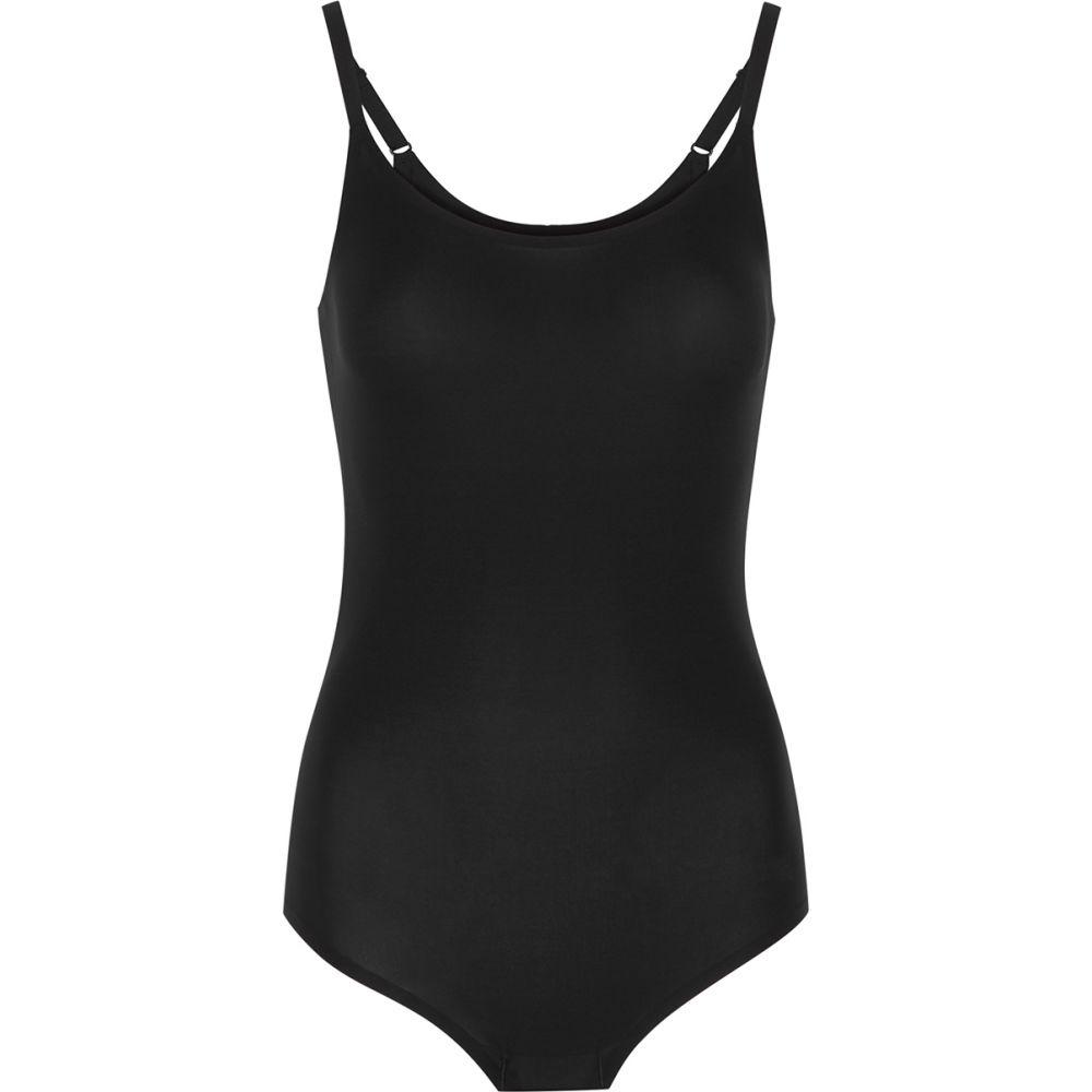 シャントル Chantelle レディース ボディースーツ インナー・下着【Soft Stretch Black Seamless Bodysuit】Black